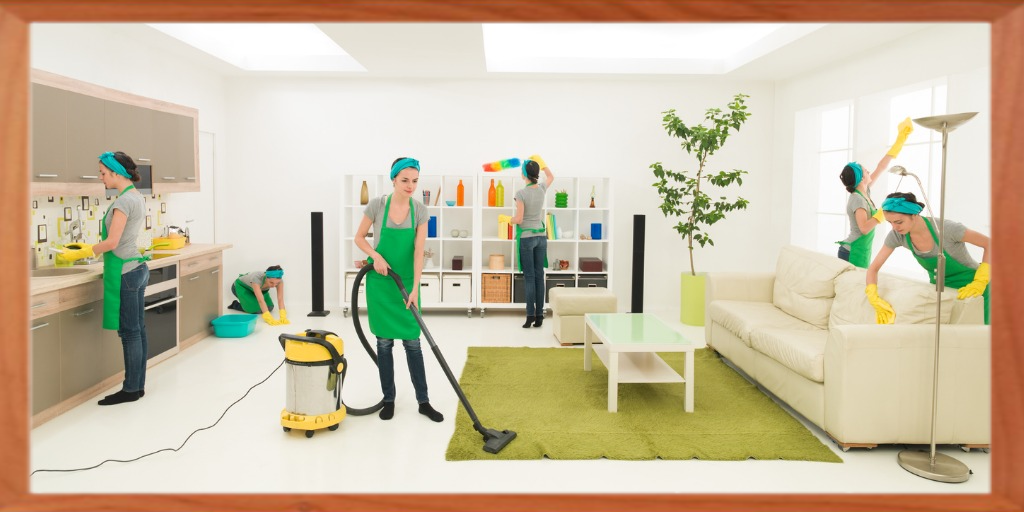 janitorial- house cleaning
